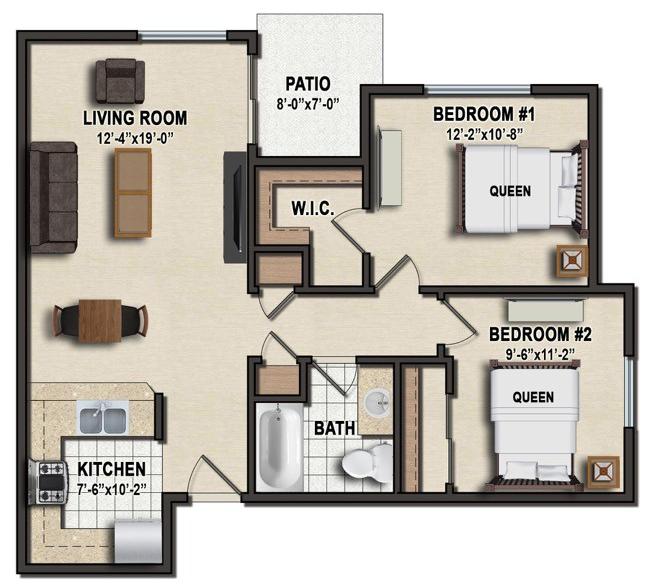 The Manor Apartments: Alderwood Manor Apartments, Ellensburg, WA
